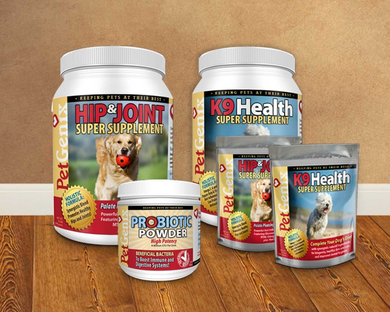 Logo and package design for pet products