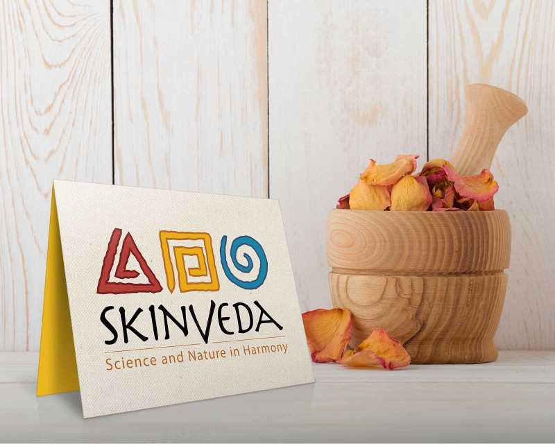Logo design for natural skin products