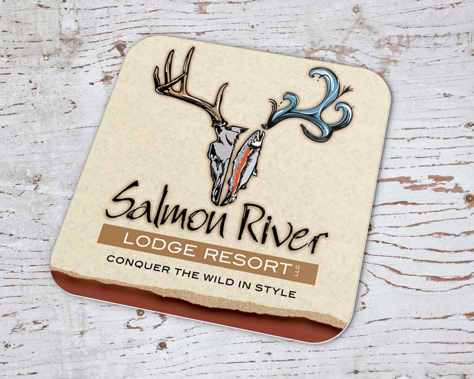 Logo design for Idaho outfitter and resort