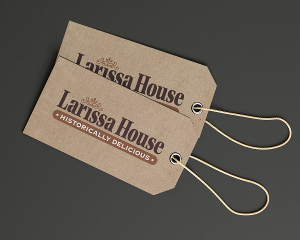 Logo for Larissa House Restaurant in Jacksonville, Texas