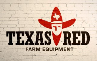 Logo Design for Texas Red Farm Equipment in Henderson, Texas