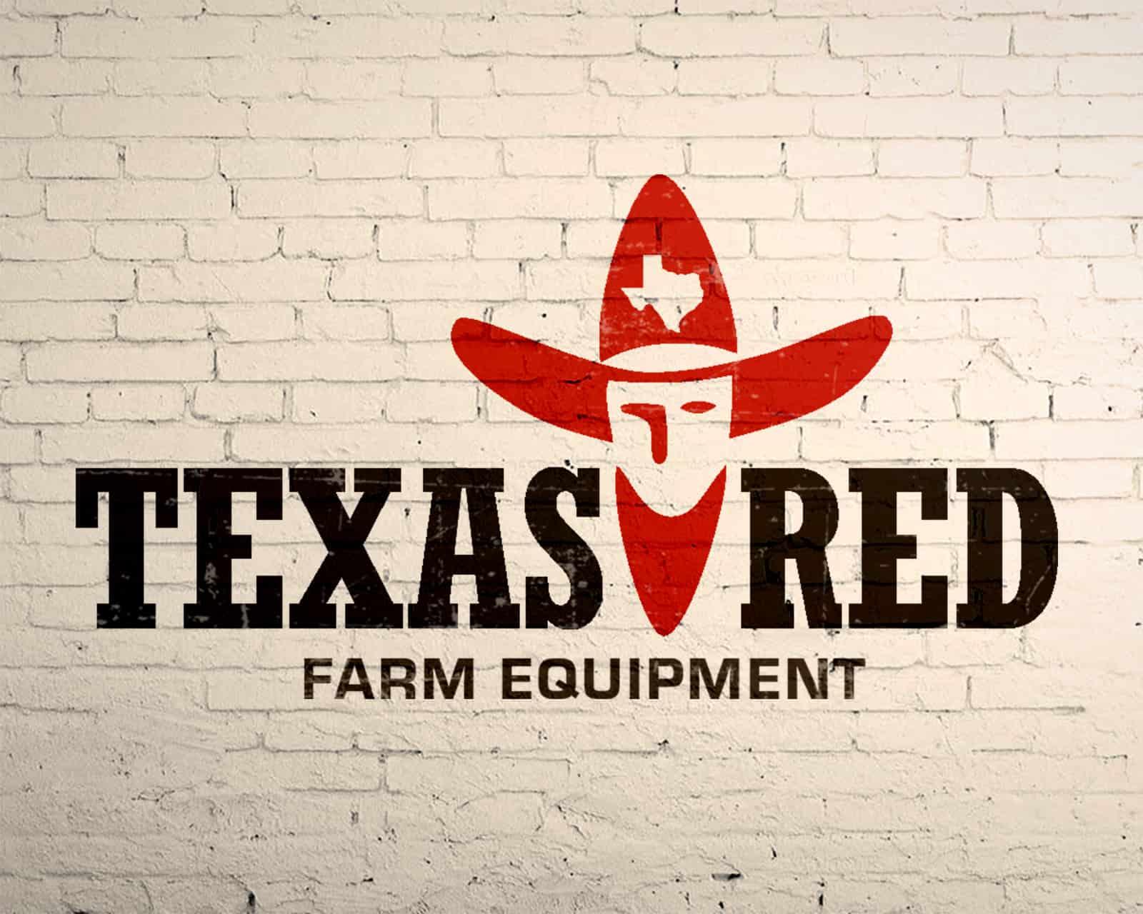 Logo Design for Texas Red Farm Equipment in Henderson, Texas